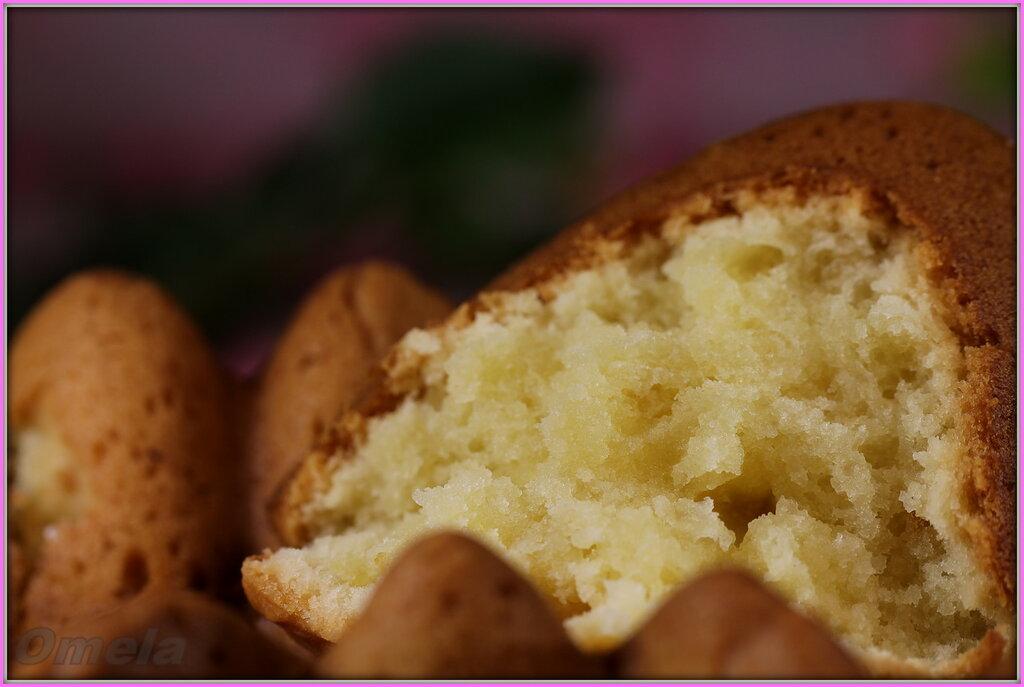 Кекс картофельно-сметанный