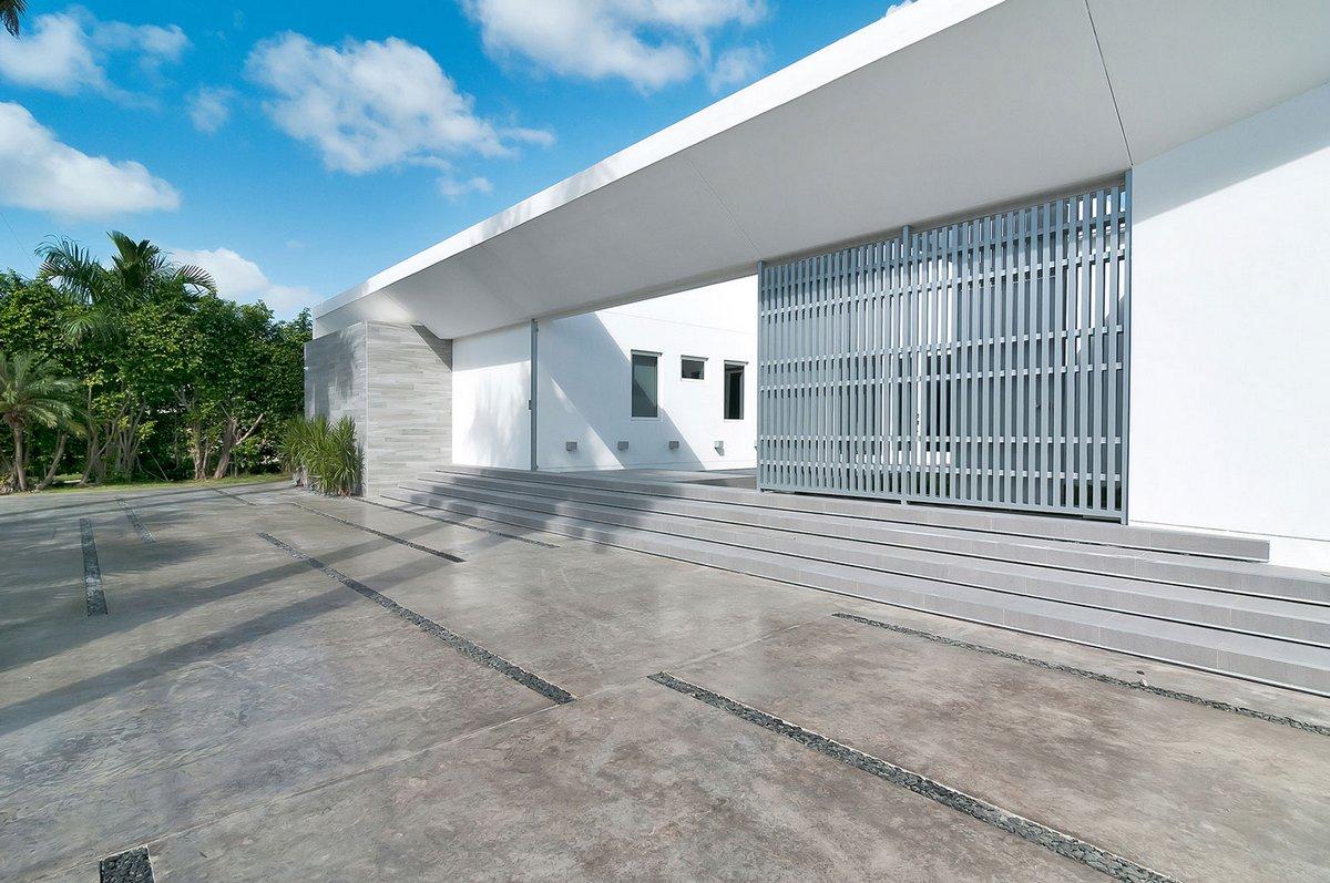 One d+b Miami, особняки в Майами, обзоры домов в Майами, частный дома Флорида, обзоры роскошных домов, Gross-Flasz Residence, дом на острове Майами