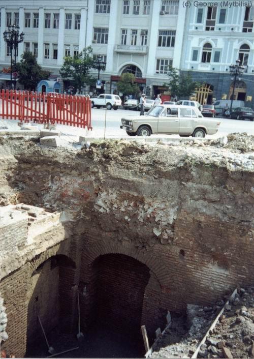 Подвалы караван-сарая Тамамшева