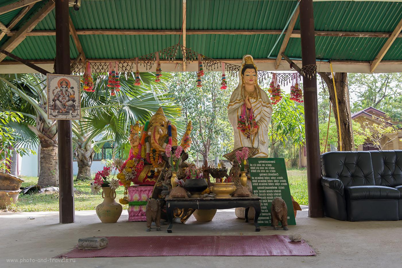 Фото 18. В храме Wat Na Yang. Поездка на отдых в Таиланде из Екатеринбурга самостоятельно.