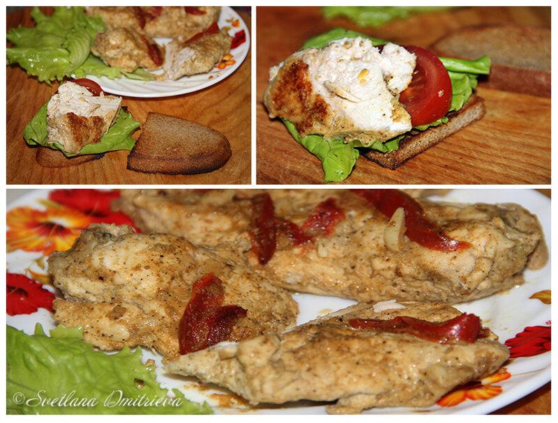 куриное филе в кефире калорийность