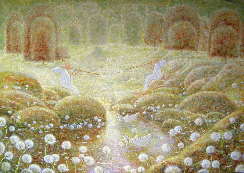 Мне ангелы играли бы на дудочках И гладили б меня по голове. Ramunas Naumavicius
