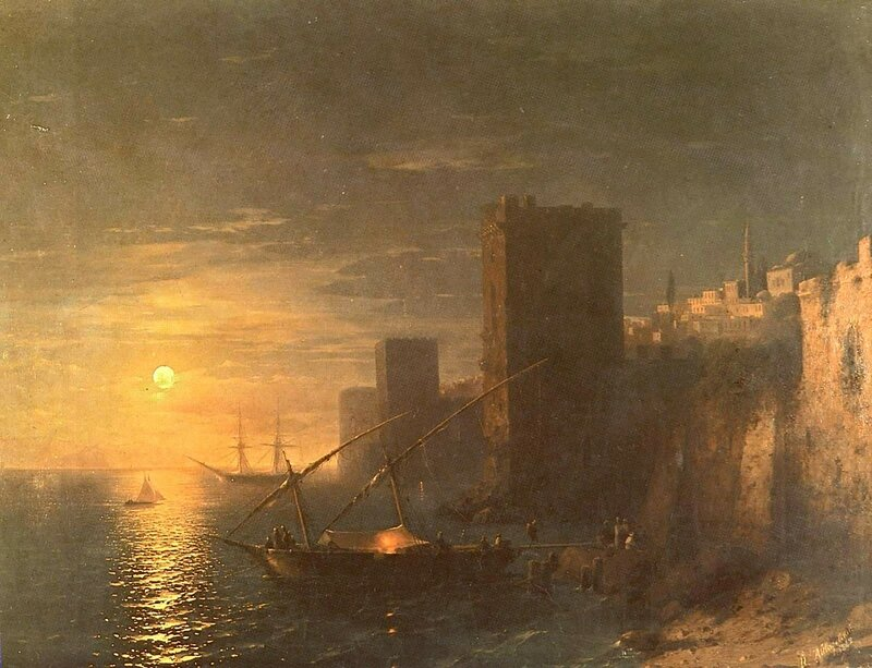 Айвазовский. Лунная ночь в Константинополе.jpg