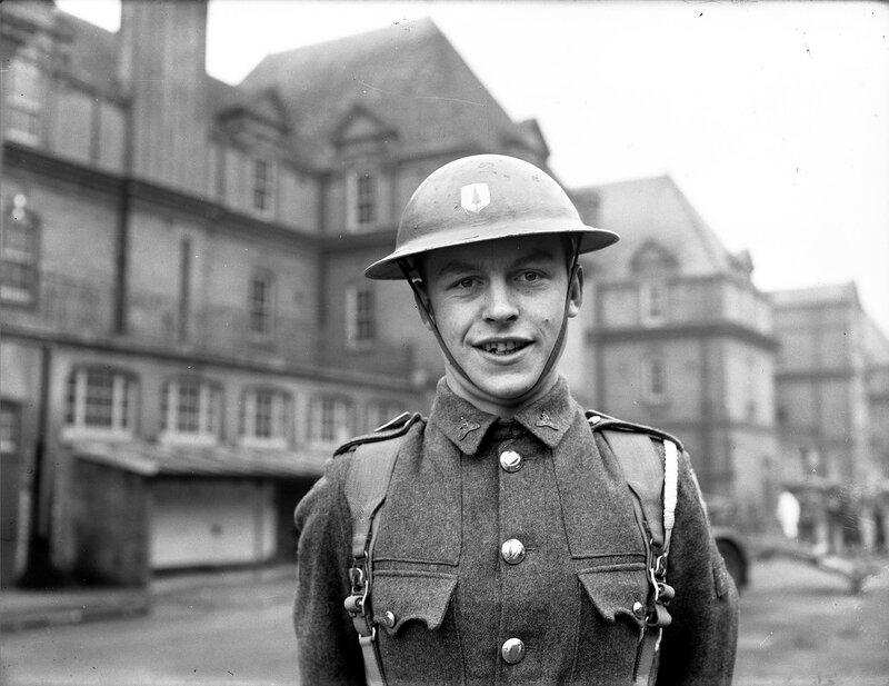Рядовой ирландской армии. 1955 год.