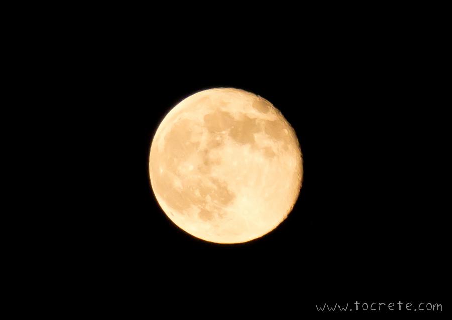 Луна на Крите