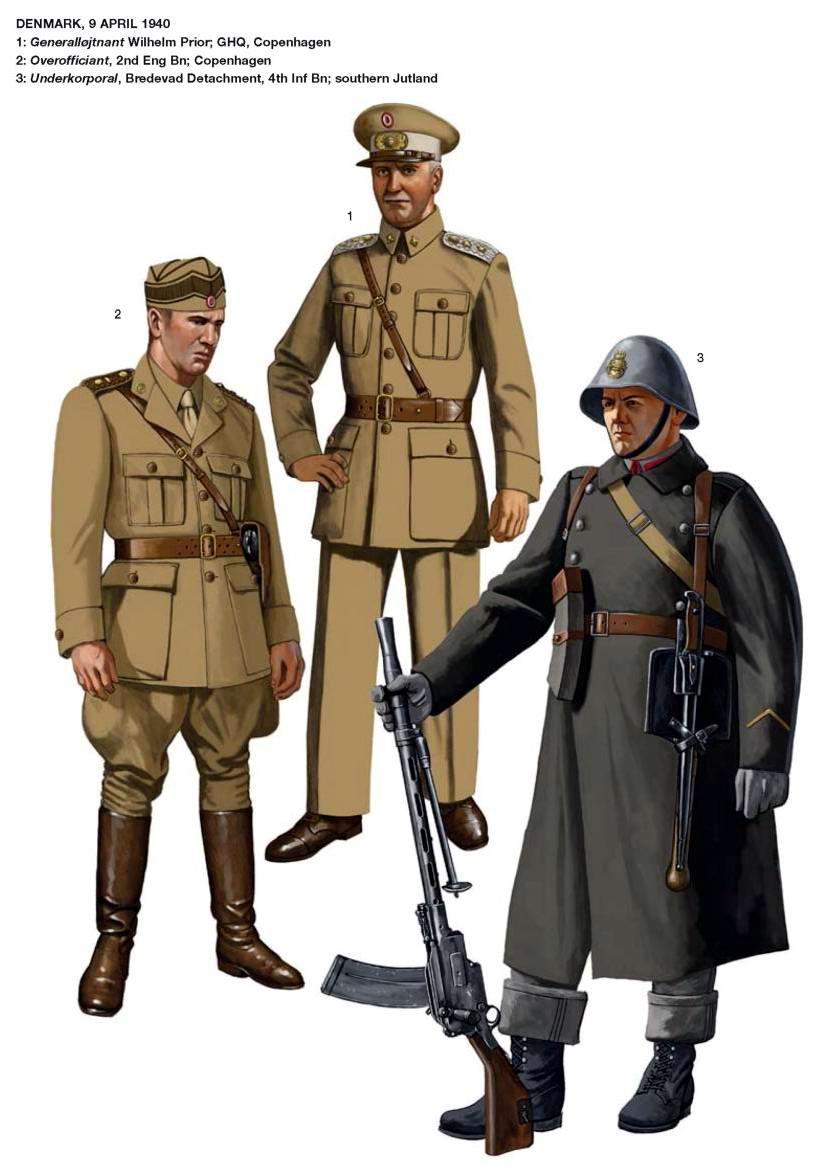 Военнослужащие датской армии