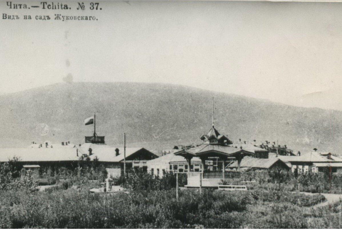 Вид на сад Жуковского