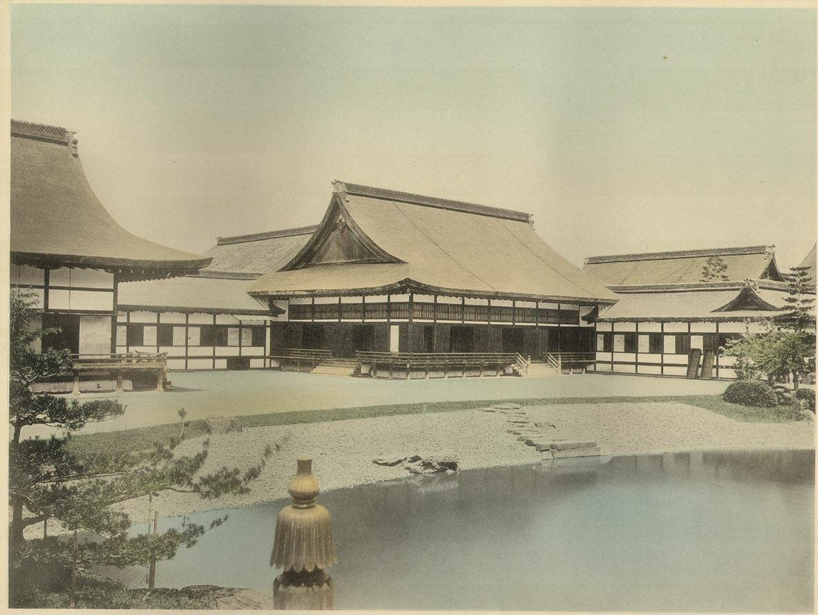Киото. Старый императорский дворец