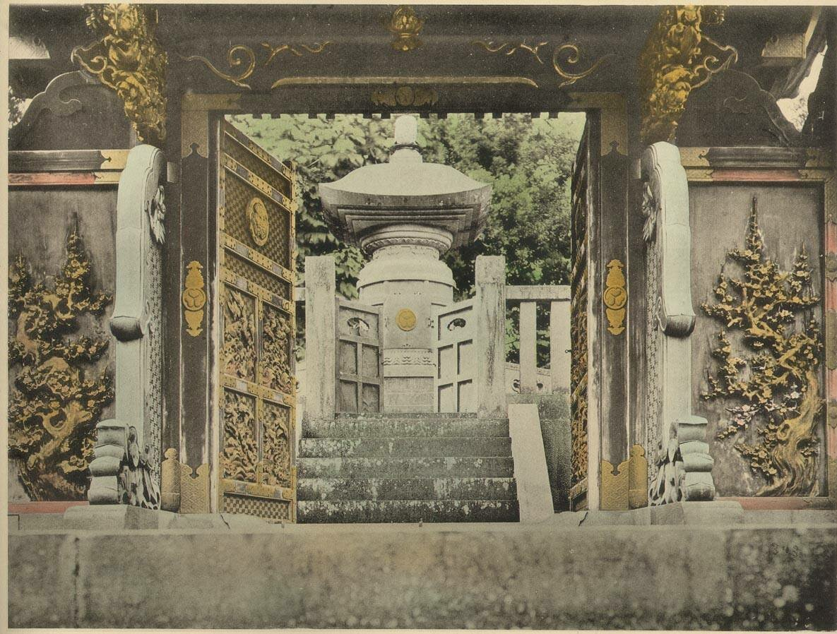 Токио. Парк Шиба. Могила Иэсигэ