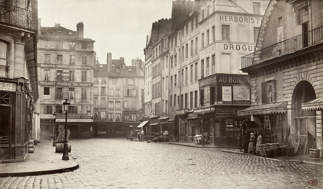 Рю де ля Ланжри. 1865