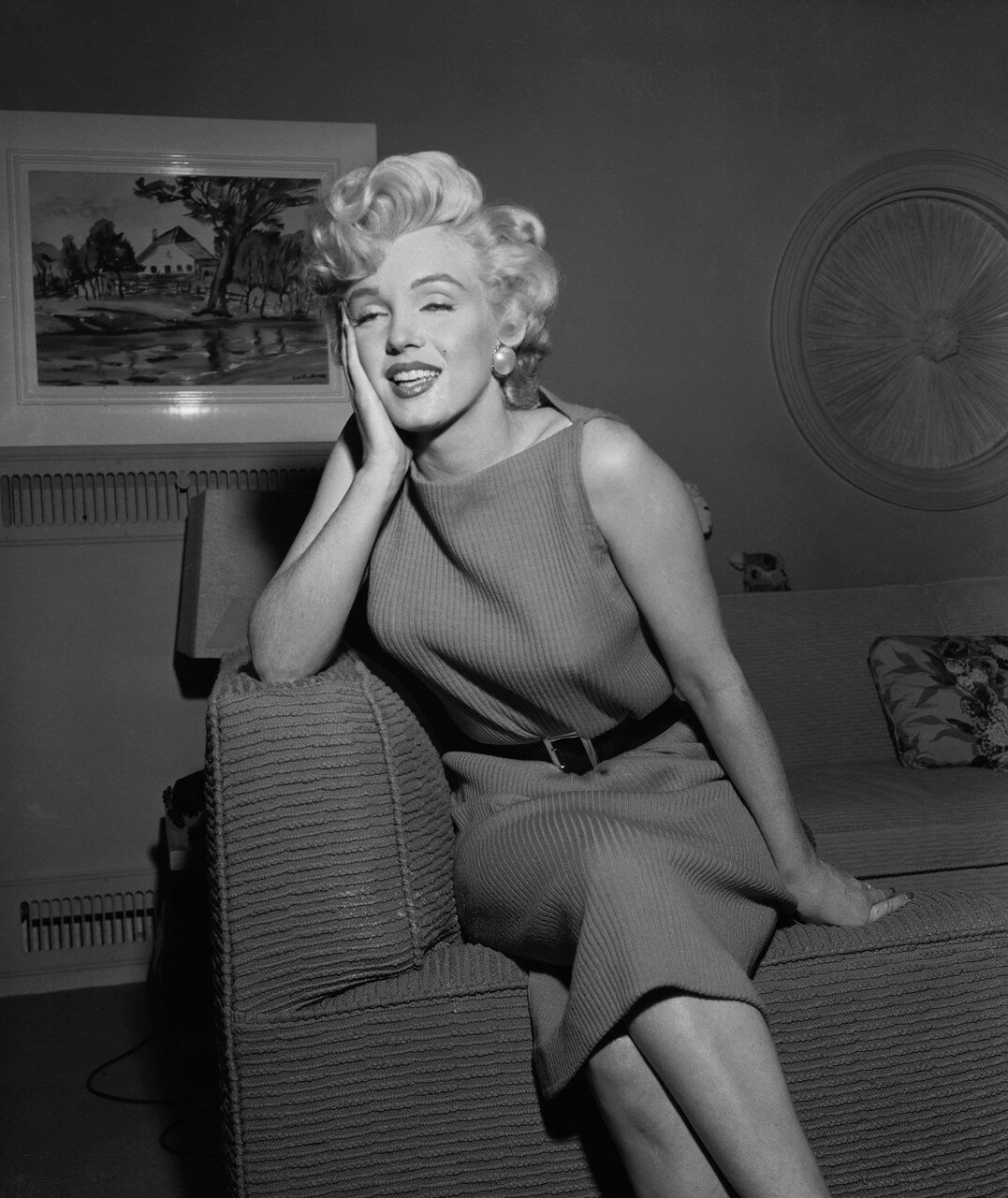 Marilyn Monroe in Dressing Room