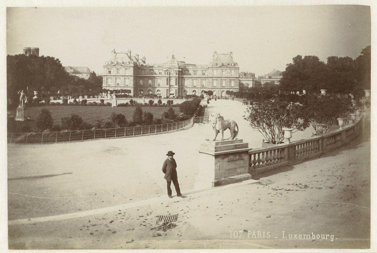 1850-е. Люксембургский дворец