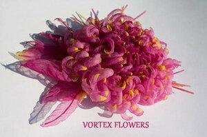 Мастер-класс. Хризантема из ткани «Ягодка» от Vortex  0_fbf99_84bf45a8_M