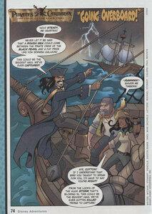 """Комиксы """"Пираты Карибского моря"""". """"Going Overboard!"""""""