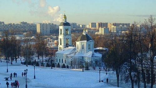 Церковь Иконы Пресвятой Богородицы «Живоносный Источник». Москва. Царицыно