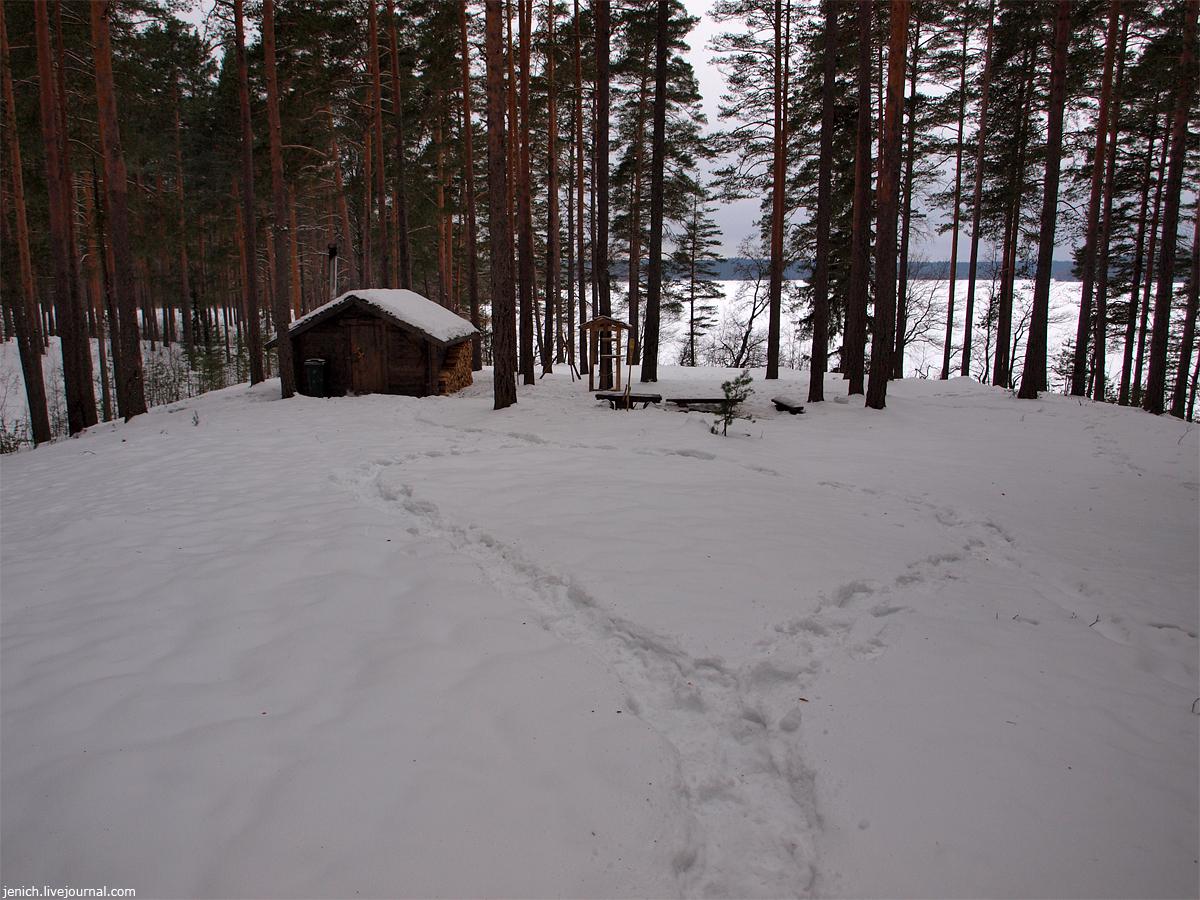 фото, фотографии, озеро Зеркальное, эко, отель Лес, зима