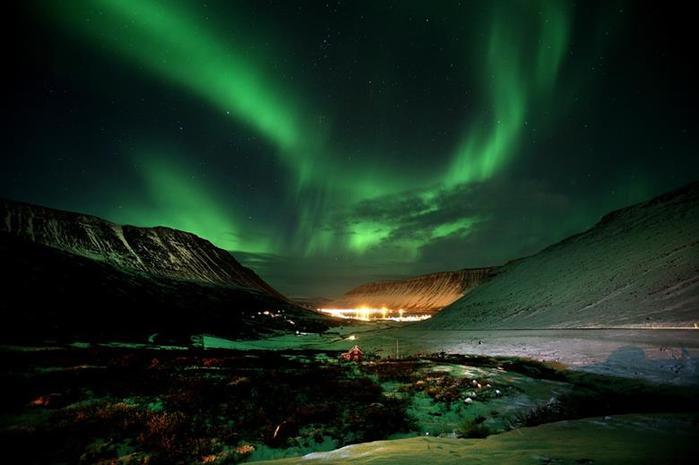 Красивые фотографии полярного сияния 0 10d657 d75919ea orig