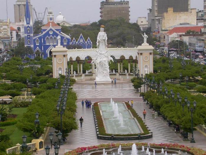 Город Маракайбо в Венесуэле