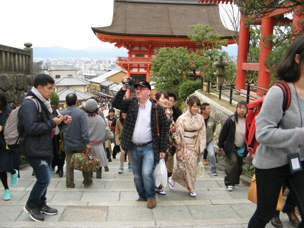 Япония. Город Киото. Храм Чистой воды - Киёмидзудэра