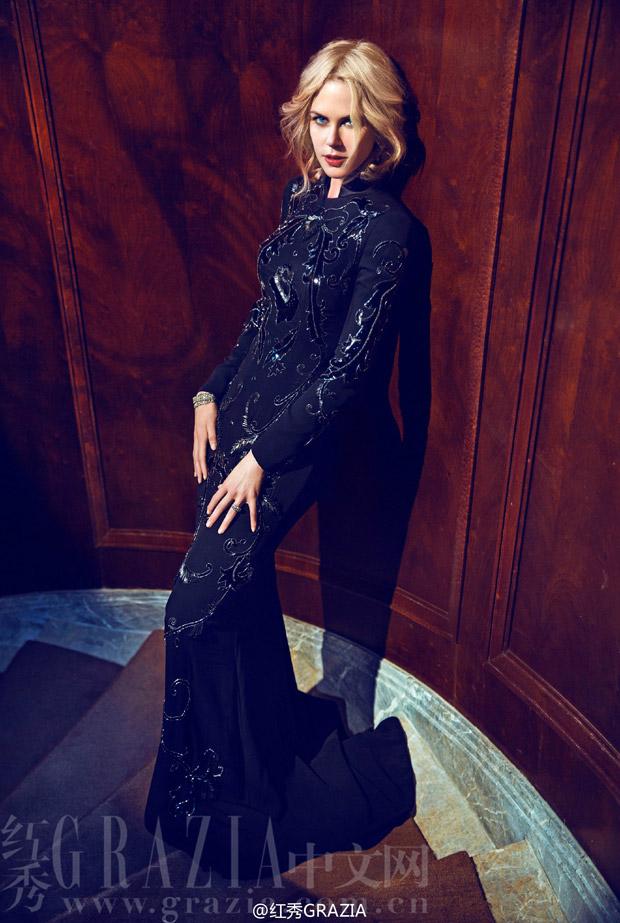 Николь Кидман (Nicole Kidman) в журнале Grazia China