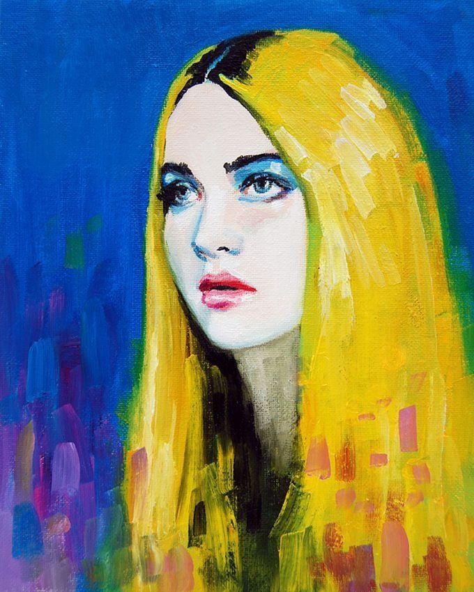 Яркие портреты от Emma Uber