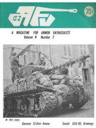 Журнал AFV-G2: A Magazine For Armor Enthusiasts Vol.4 No.07