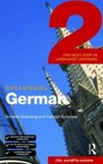 Книга Colloquial German 2: The Next Step in Language Learning (Book & 2 CDs)