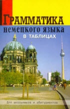 Книга Грамматика немецкого языка в таблицах