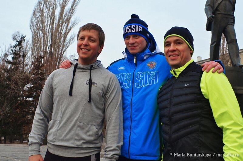 Утренняя пробежка, Саратов, 10 декабря 2014 года