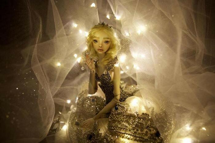 Марина Бычкова и ее одухотворённые куклы для взрослых