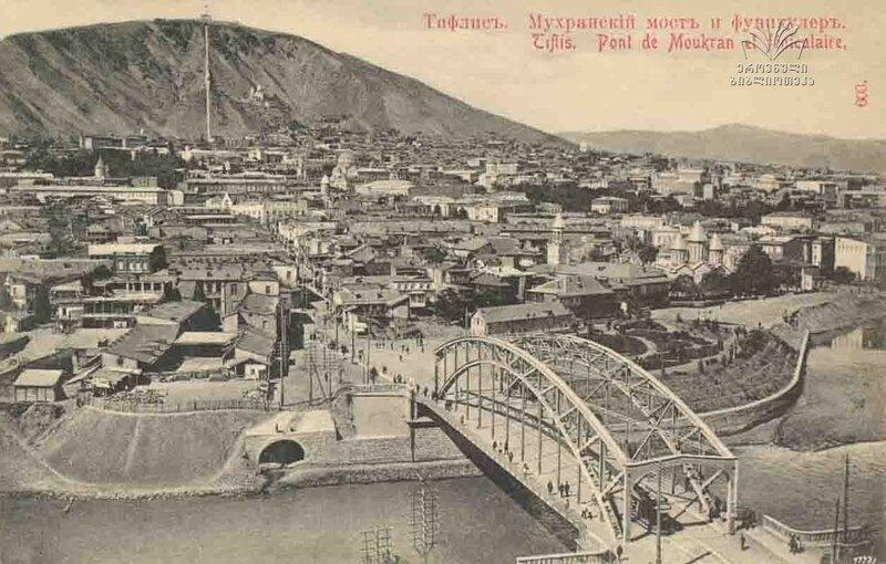 Тбилиси, Мухранский мост