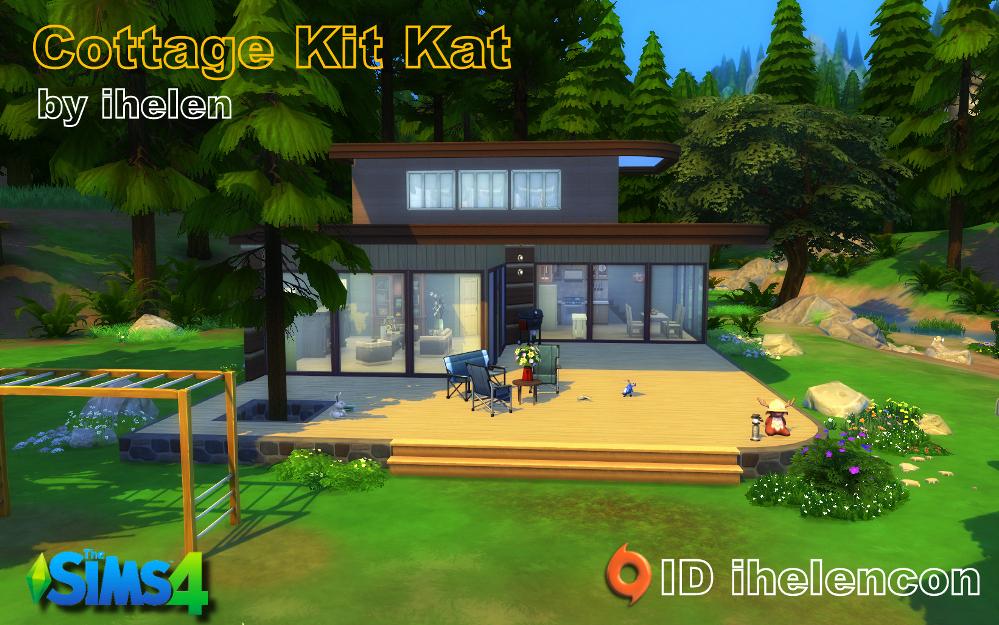 Cottage Kit Kat by ihelen