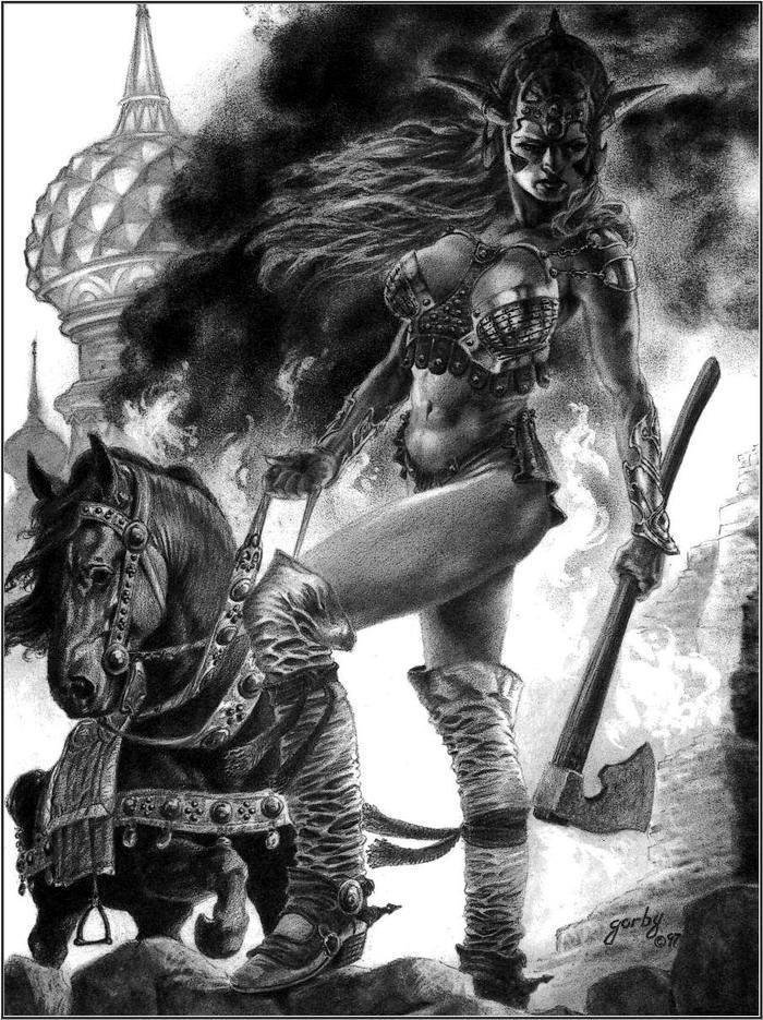 Правдивые истории из жизни девушек - воинов (1)