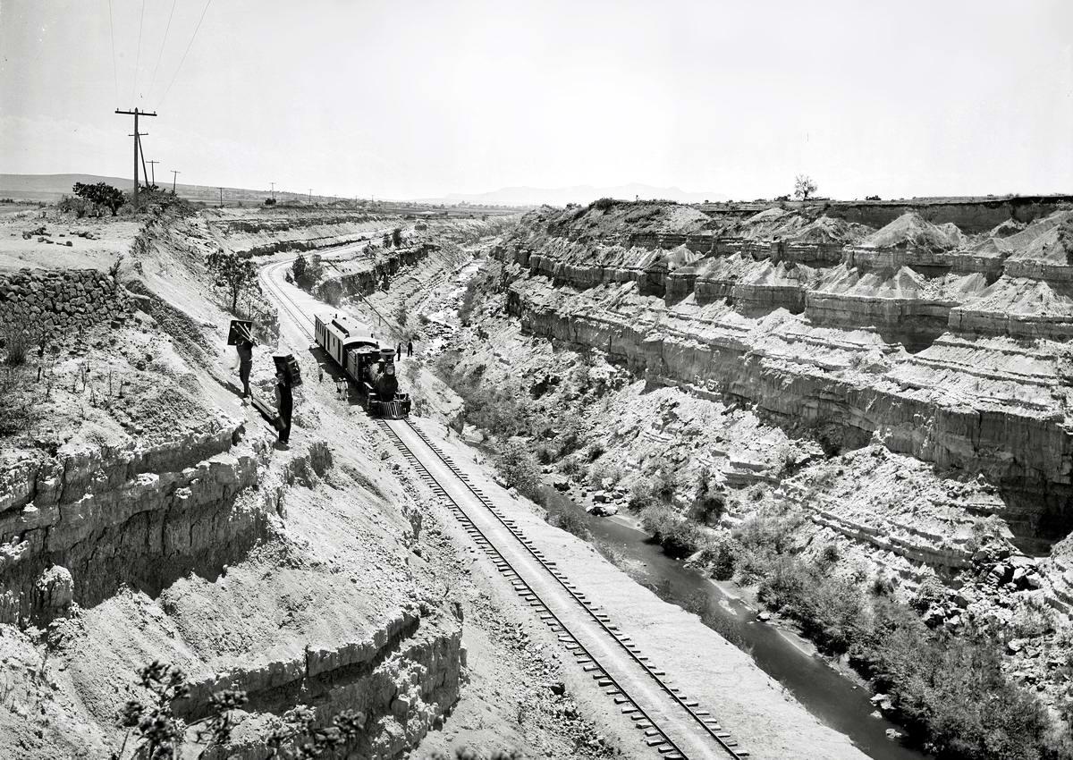Железные дороги конца 19-го - начала 20-го века на снимках американских фотографов (16)