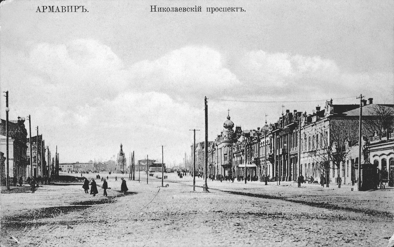 04 Проспект от ул. Бульварной к ул. Привокзальной. 1911