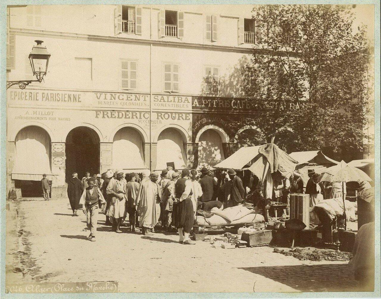 Алжир, Пляс-дю Марше