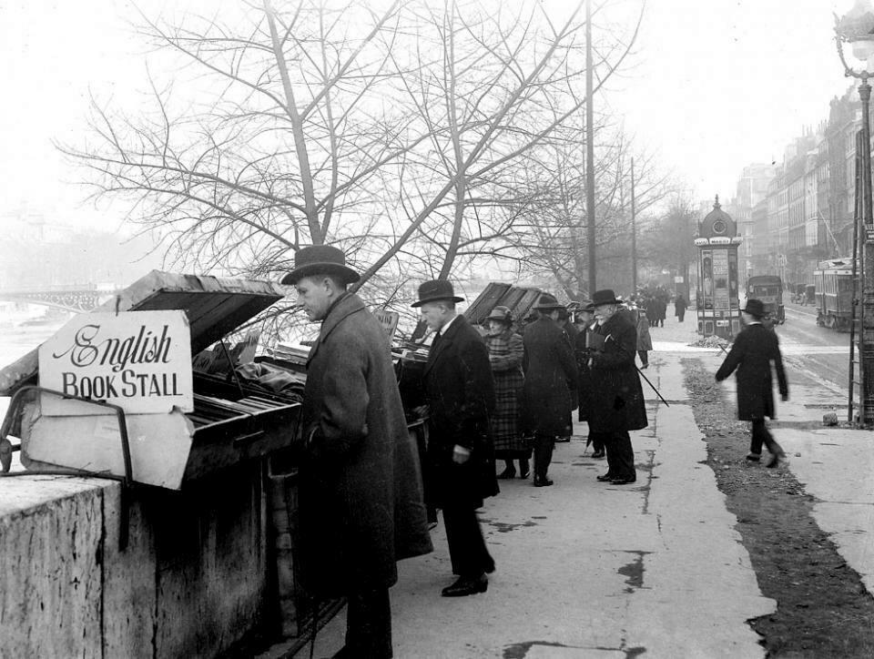 1920-е. Парижские букинисты