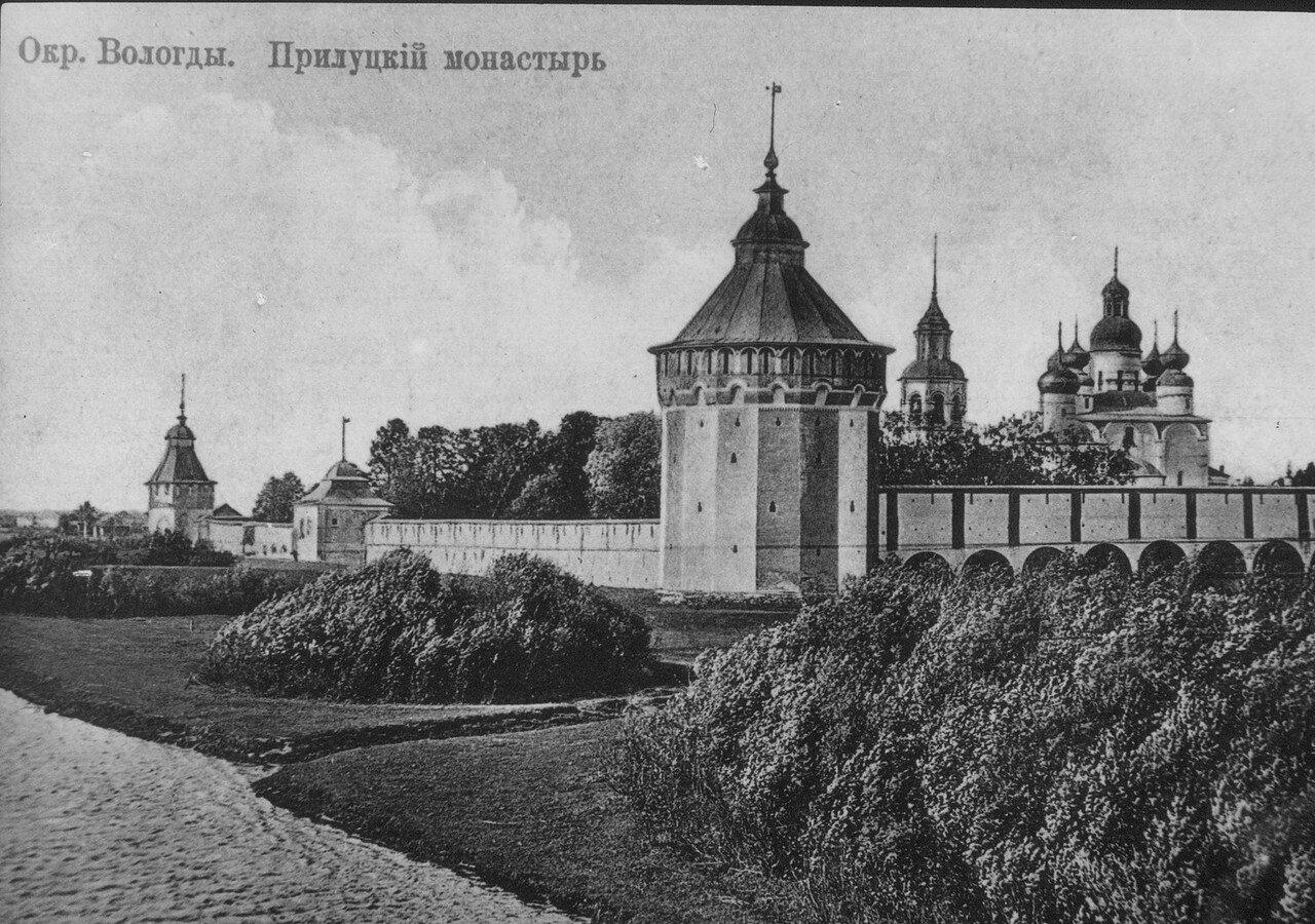 Окрестности Вологды. Прилуцкий монастырь