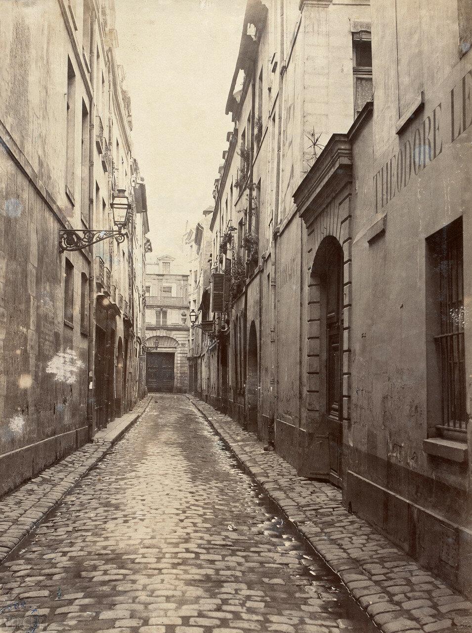 Рю Пуатвин. 1865