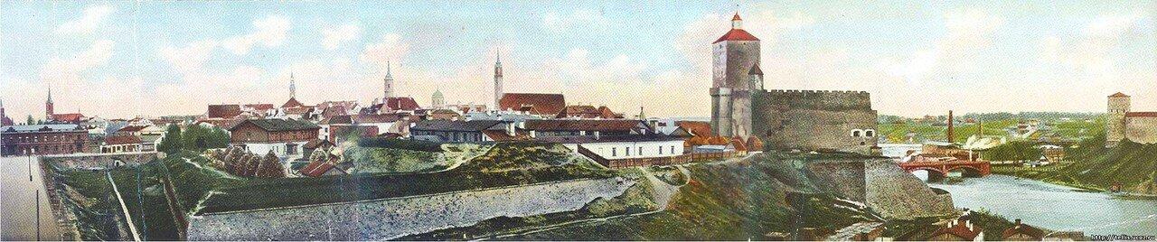 Панорама Старой Нарвы
