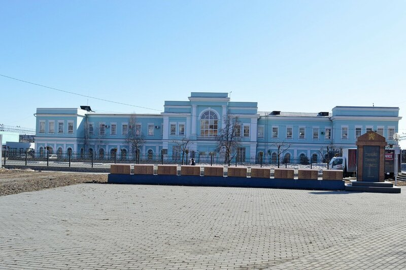 """""""Старое"""" здание ж\д вокзала"""