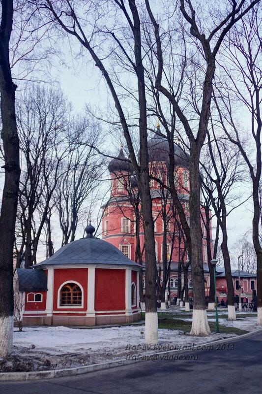 Водосвятная часовня Донского монастыря, Москва