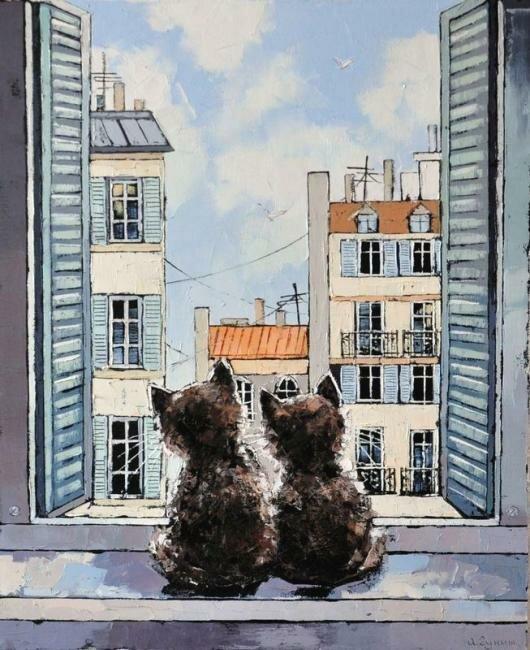 Александр Гунин. Окно в Париж