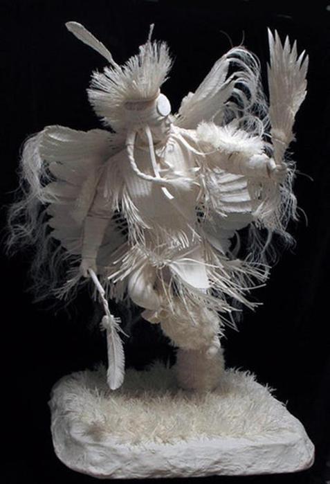 Удивительные скульптуры из бумажной массы 0 115b64 7976684e orig