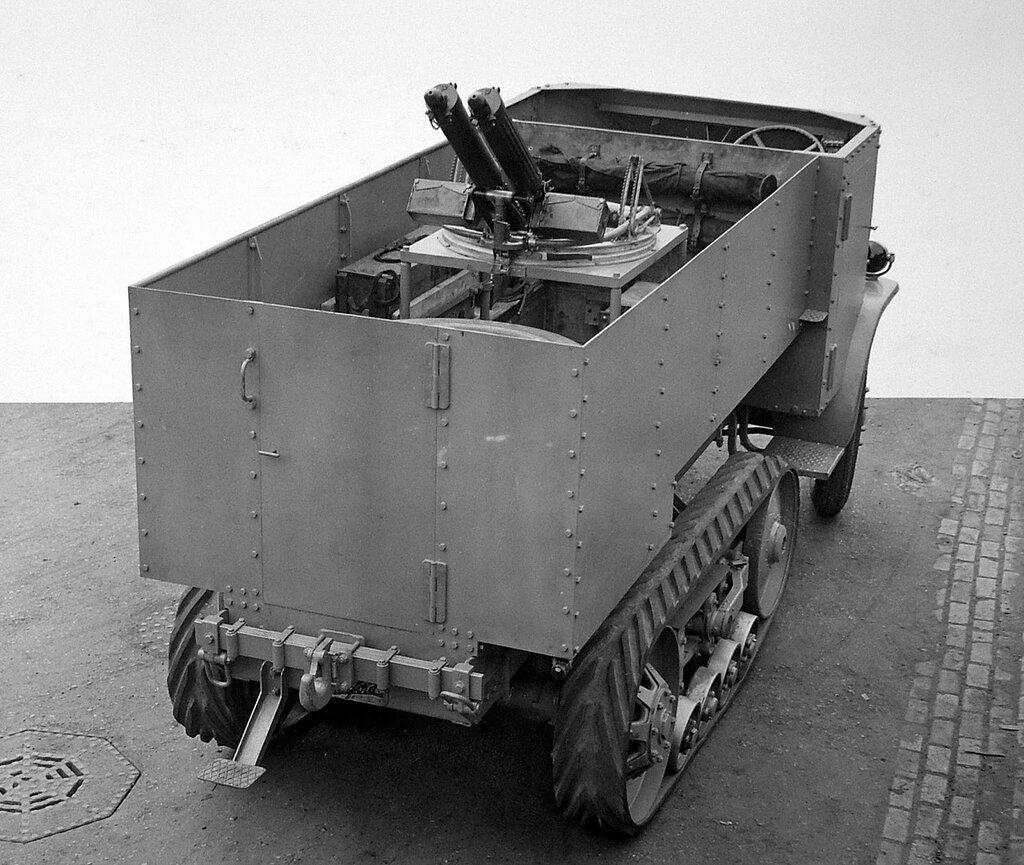 Burford Machine Gun carrier, 1926