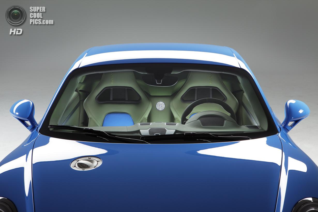Итальянский взгляд на Porsche Cayman S