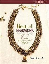 Журнал Best Of Beadwork  Flat Peyote Stitch