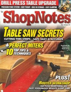 Журнал Журнал ShopNotes №94 (2007)