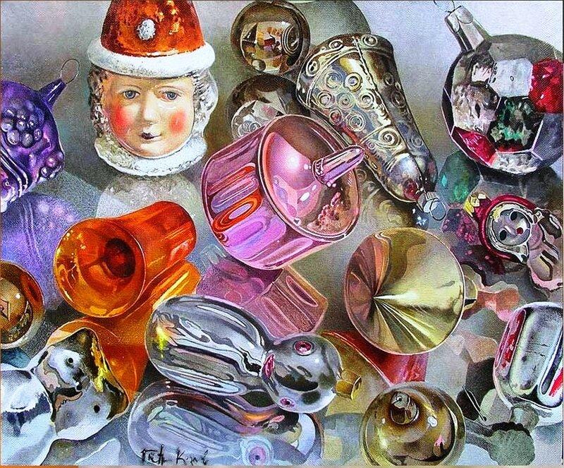 Козлов Петр. Старые игрушки.(40х50)(холст-масло).jpg