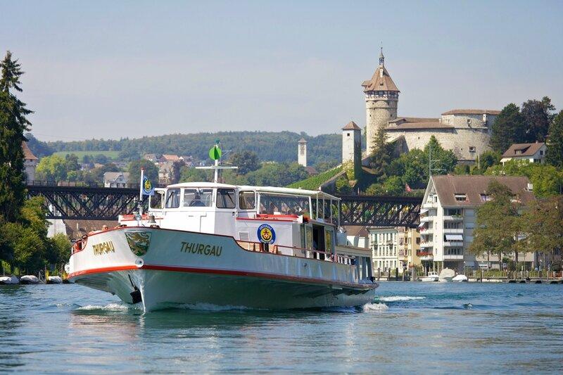 URh, Schiffe, Untersee und Rhein, Schifffahrtsgesellschaft
